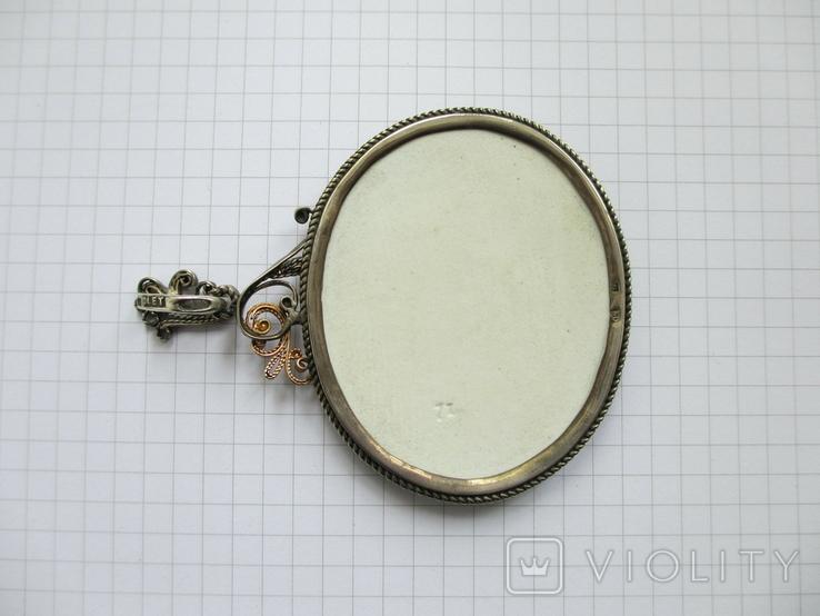 Кулон с эмалями., фото №8