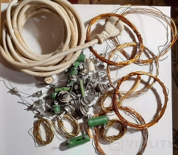 Радиодетали,провода -одним лотом.№72.+*, фото №4