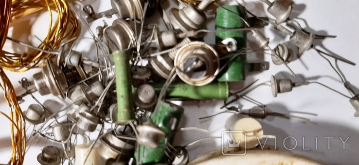 Радиодетали,провода -одним лотом.№72.+*, фото №5