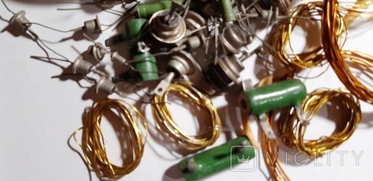 Радиодетали,провода -одним лотом.№72.+*, фото №6