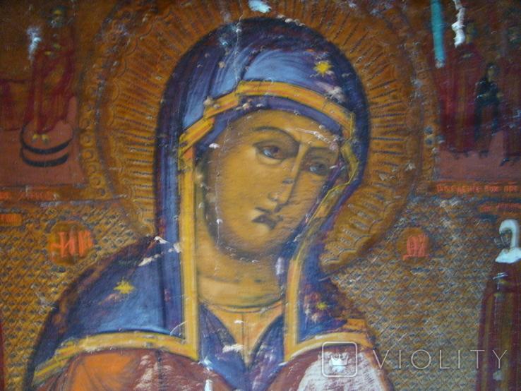 Икона Богородиці 19 век, фото №3
