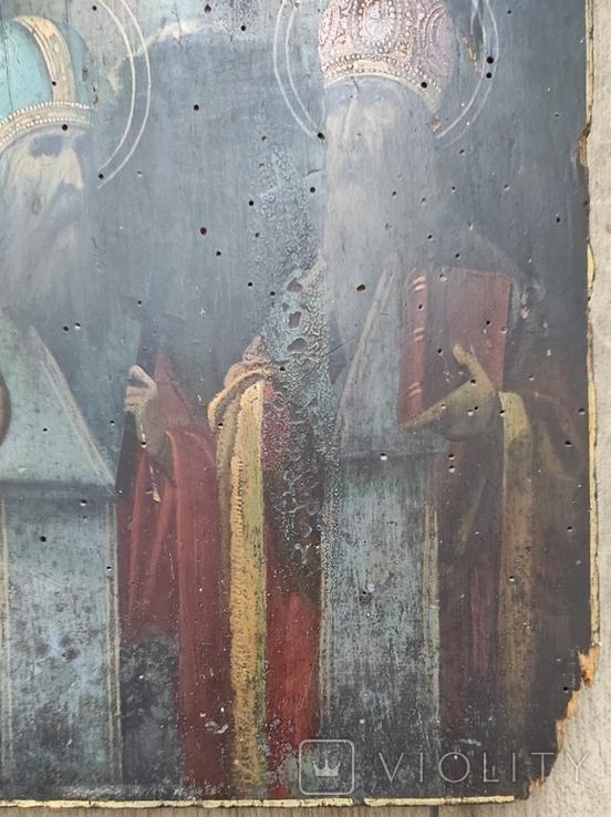 Икона Святой Харлам и Святой Влас 22*27, фото №5