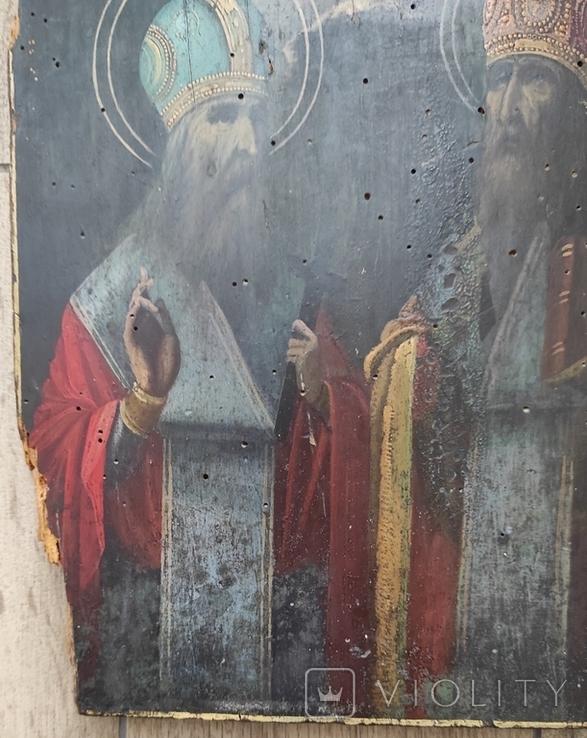 Икона Святой Харлам и Святой Влас 22*27, фото №6