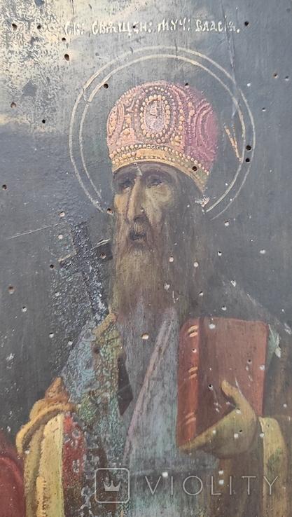Икона Святой Харлам и Святой Влас 22*27, фото №8