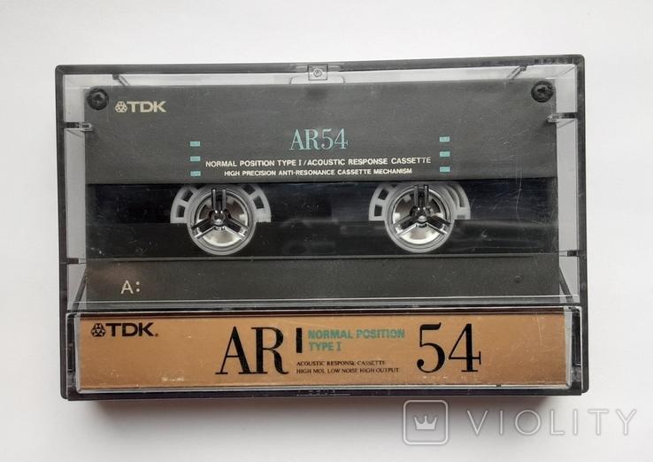 Аудиокассета TDK AR54 (Jap), фото №2