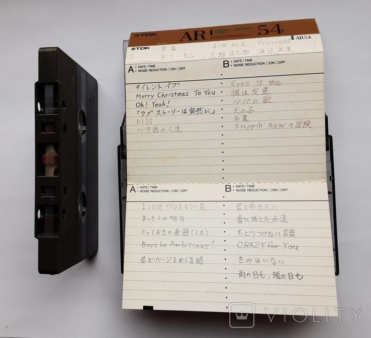 Аудиокассета TDK AR54 (Jap), фото №7