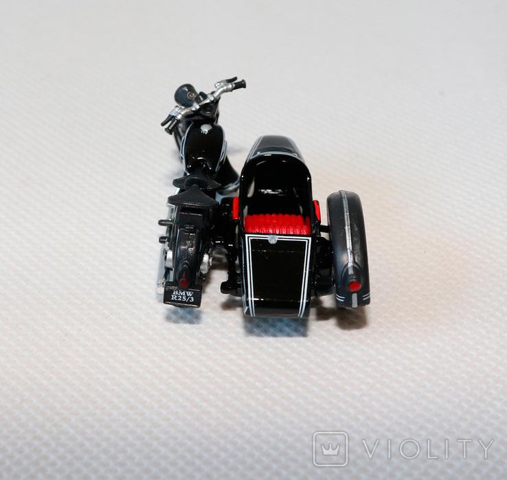 Масштабная модель мотоцикла bmw R25/3 1:43, фото №4