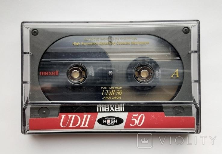 Аудиокассета Maxell UD II 50 Type ll (Jap), фото №2