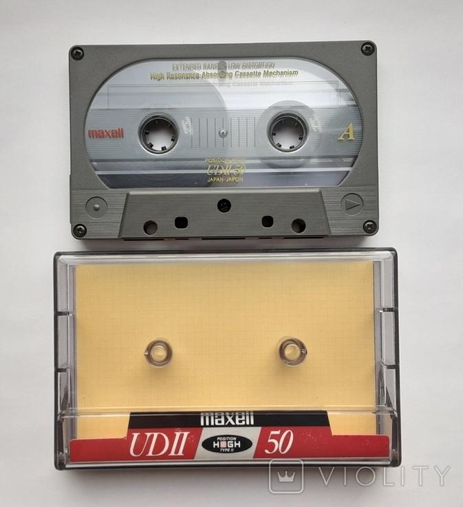 Аудиокассета Maxell UD II 50 Type ll (Jap), фото №3