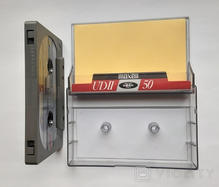 Аудиокассета Maxell UD II 50 Type ll (Jap), фото №5