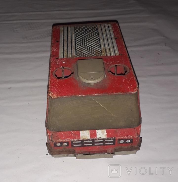 Пожарнвя машина 01 из СССР на запчасти или реставрацию, фото №6