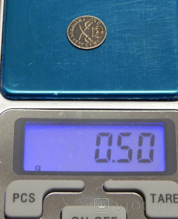 Серебряный токен 1 пенни, Британия, фото №4