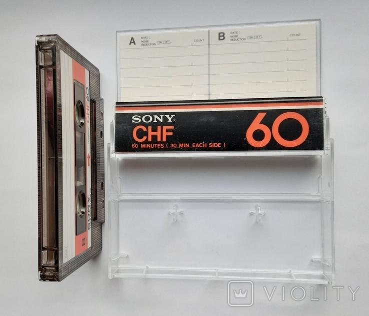 Аудиокассета SONY CHF 60 (Jap), фото №5