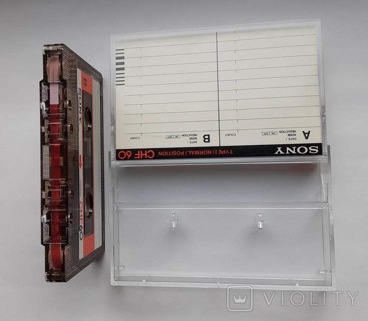 Аудиокассета SONY CHF 60 (Jap), фото №6