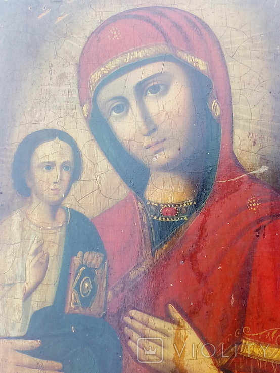 Икона,Украина 30 на 20 см., фото №3