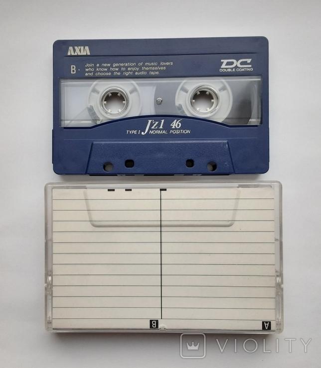 Аудиокассета AXIA J'z1 46 (Jap), фото №4
