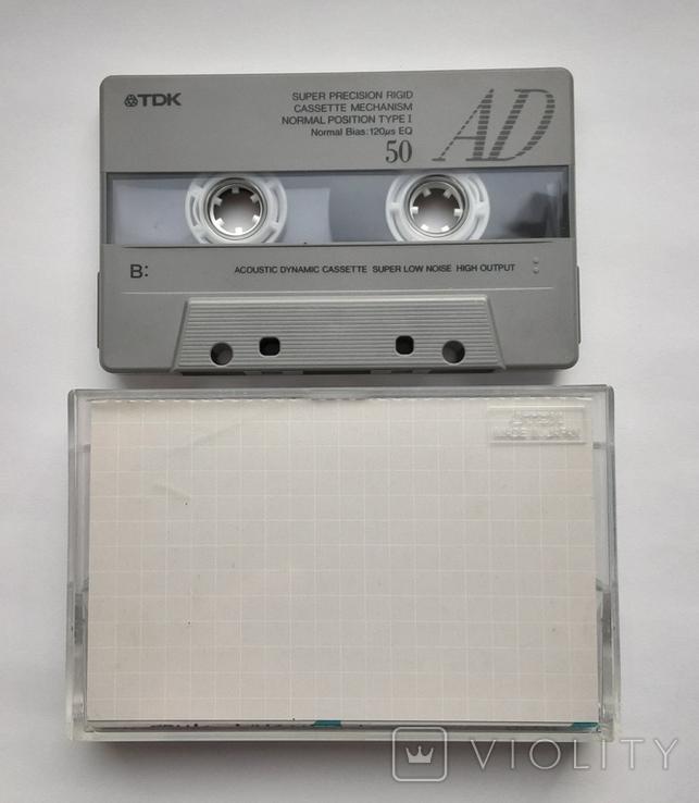 Аудиокассета TDK AD50 (Jap), фото №4