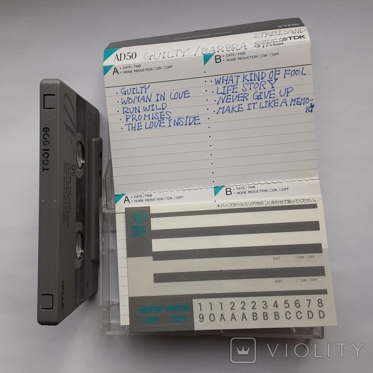 Аудиокассета TDK AD50 (Jap), фото №6