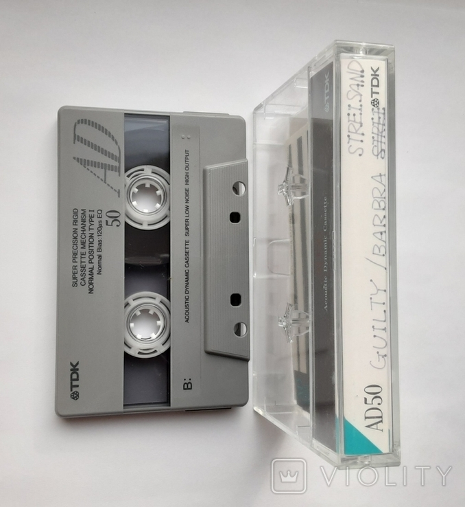 Аудиокассета TDK AD50 (Jap), фото №7