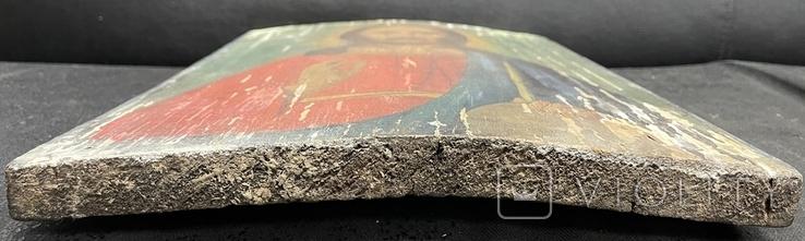 Старинная икона Иисус Христос Вседержитель, фото №7