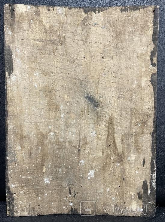 Старинная икона Иисус Христос Вседержитель, фото №9