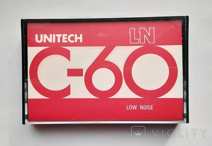 Аудиокассета UNITECH C-60 (Jap), фото №2