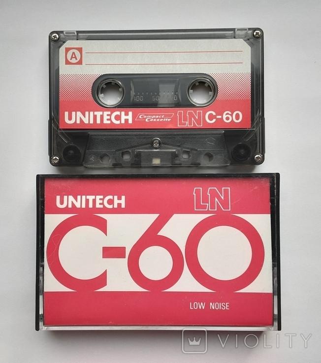 Аудиокассета UNITECH C-60 (Jap), фото №3