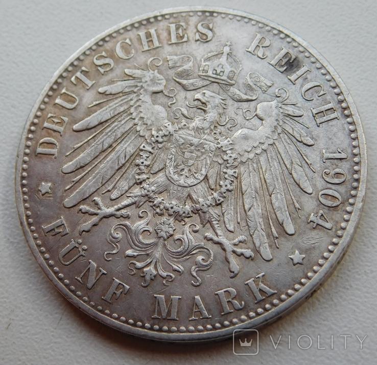 5 марок 1904, фото №5