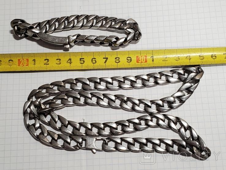 Цепь и браслет., фото №4