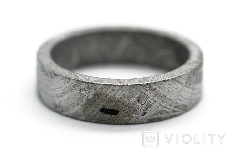 Каблучка із залізного метеорита Muonionalusta N4, з сертифікатом автентичності, фото №10