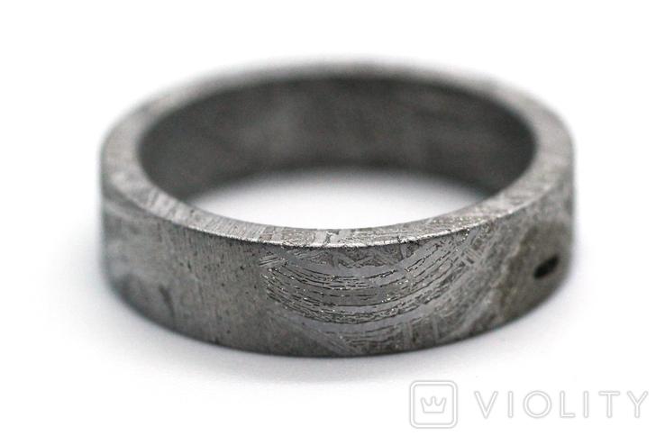 Каблучка із залізного метеорита Muonionalusta N4, з сертифікатом автентичності, фото №11
