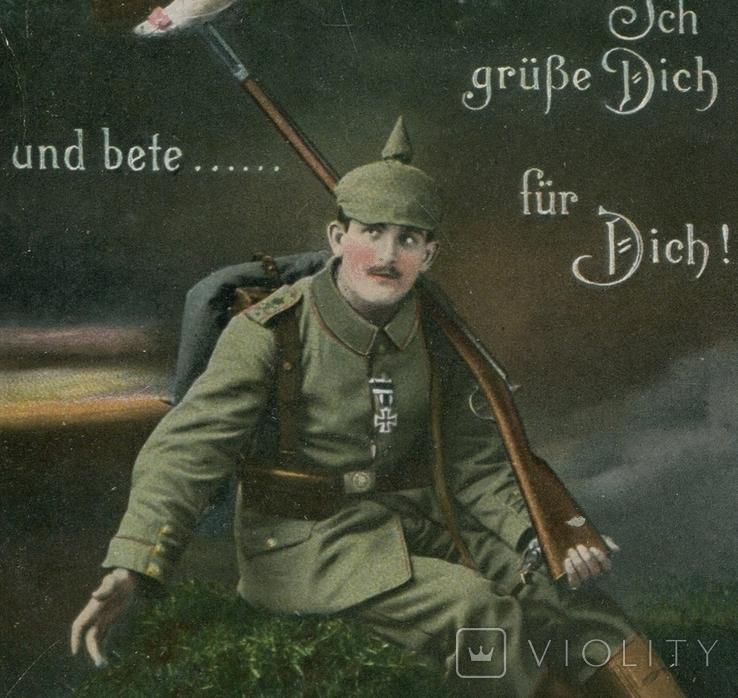 Германская Империя. 1915. Боец и фроляйн, фото №2