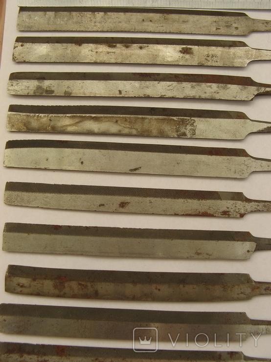 Напильники (боковые 10 шт.), фото №3