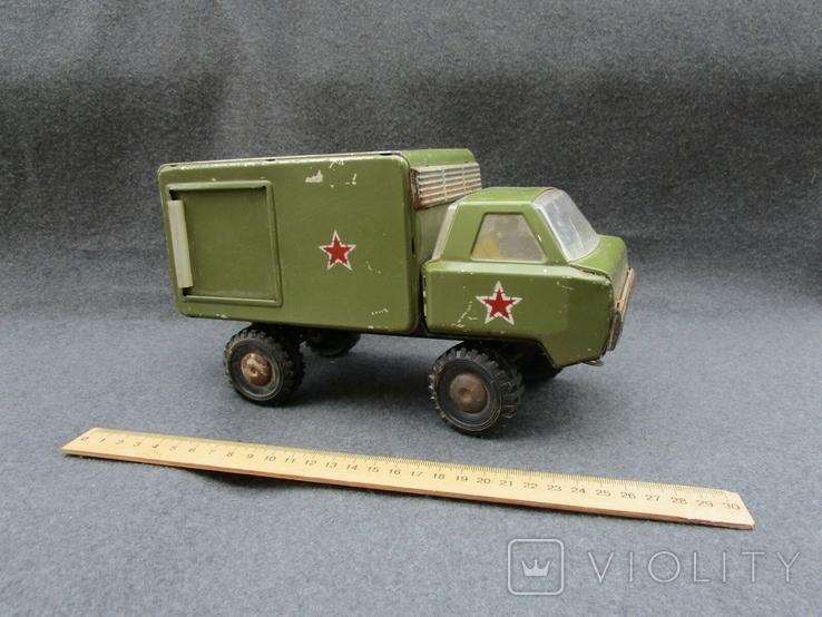 Большая железная военная машинка (СССР), фото №2