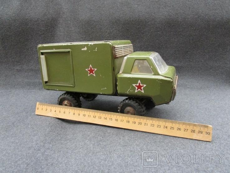 Большая железная военная машинка (СССР), фото №3