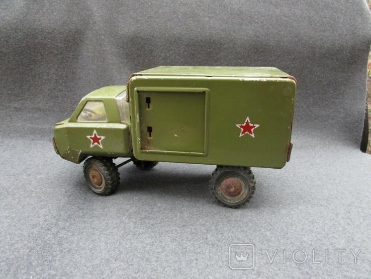 Большая железная военная машинка (СССР), фото №7