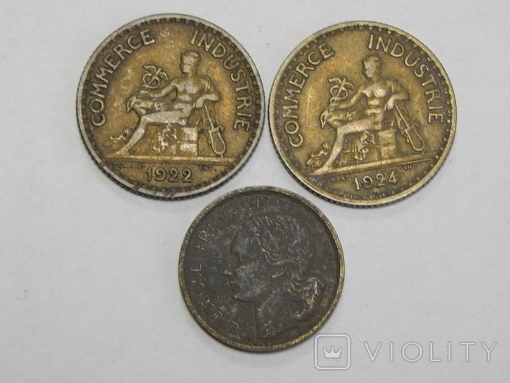 3 монеты Франции, фото №3