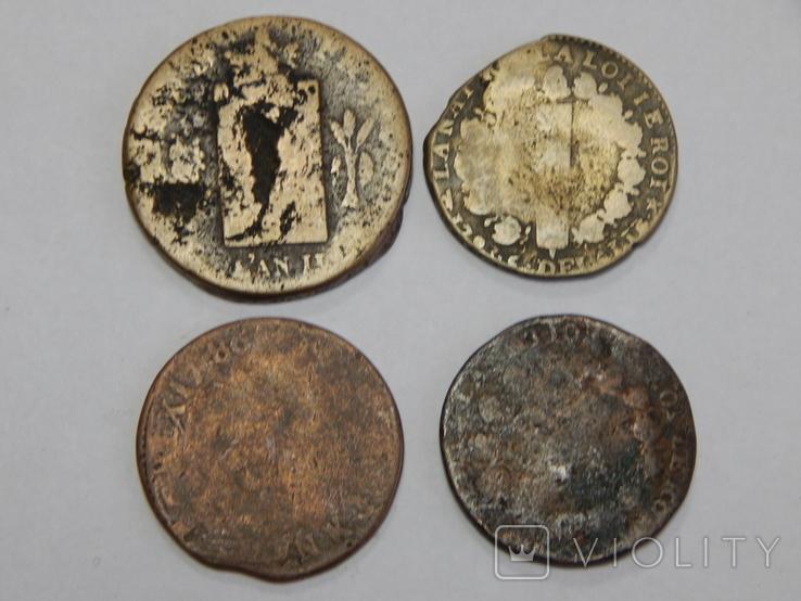 4 монеты Франции, фото №3