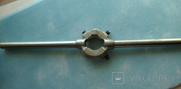 Плашкодержатель под плашки от M3 до M8, фото №2