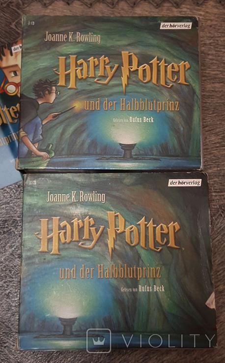 Аудиокнига на немецком Harry Potter und der Halbblutprinz CD, фото №3