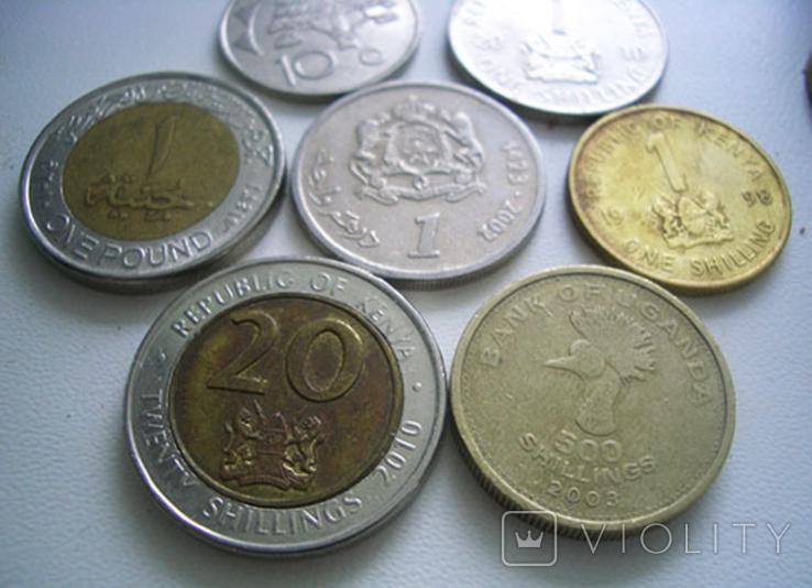 Монеты стран Африки, 7 штук, фото №3