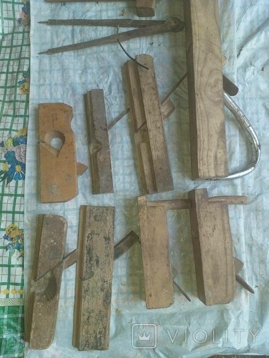 Набір рубанків різних, фото №2