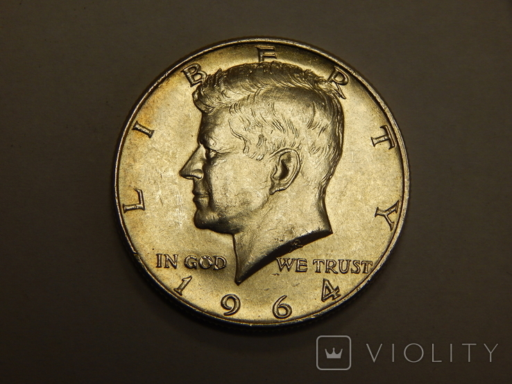 1/2 доллара, 1964 г США, фото №3