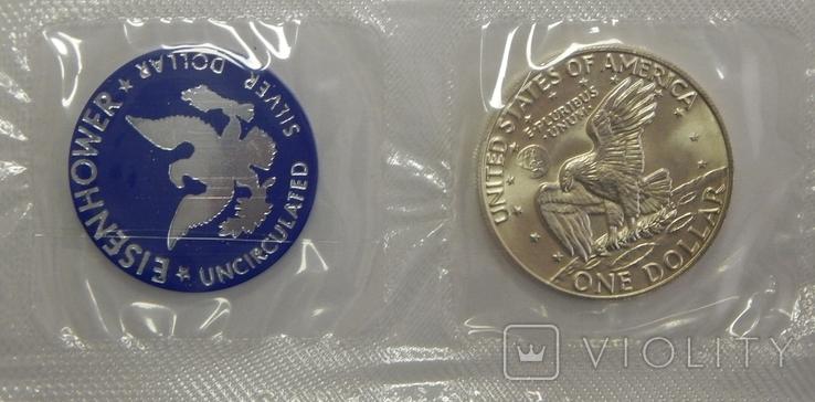 1 доллар, 1974 г США, фото №2