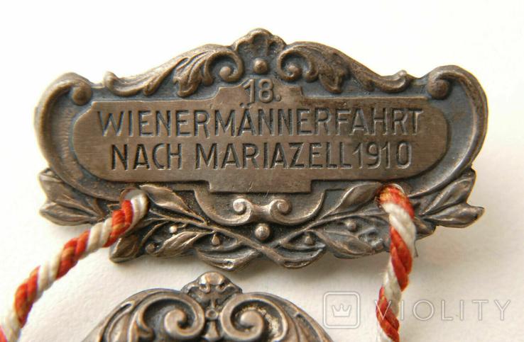 Австро-Венгрия. 80 лет, Император Франц-Иосиф. 1830-1910, 110мм, фото №5