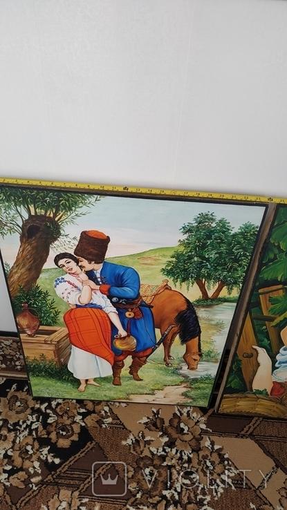 Картина Козак с Девушкой. С пожеланиями. Копия, фото №10