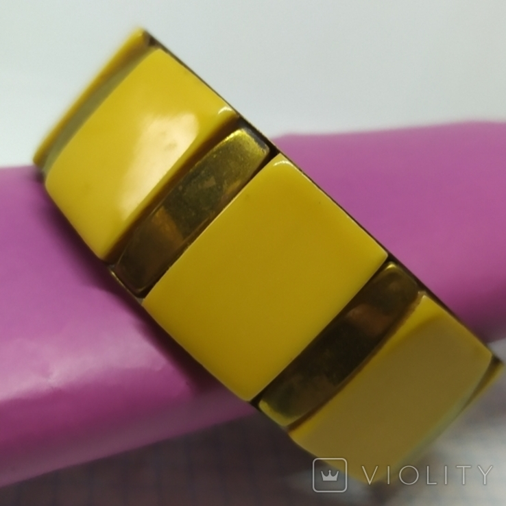 Латунный браслет со вставками из кости. ширина 23мм (3), фото №5