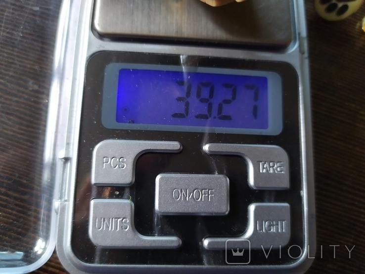 Латунный браслет со вставками из кости. ширина 23мм (3), фото №9
