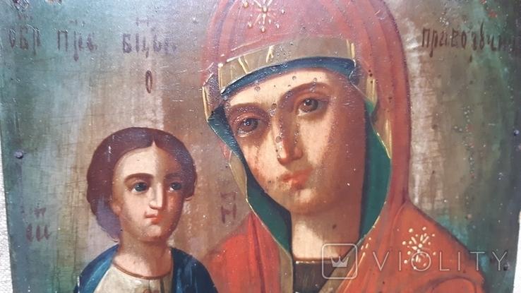Икона (Богородица)(до риволюцыонноя), фото №5