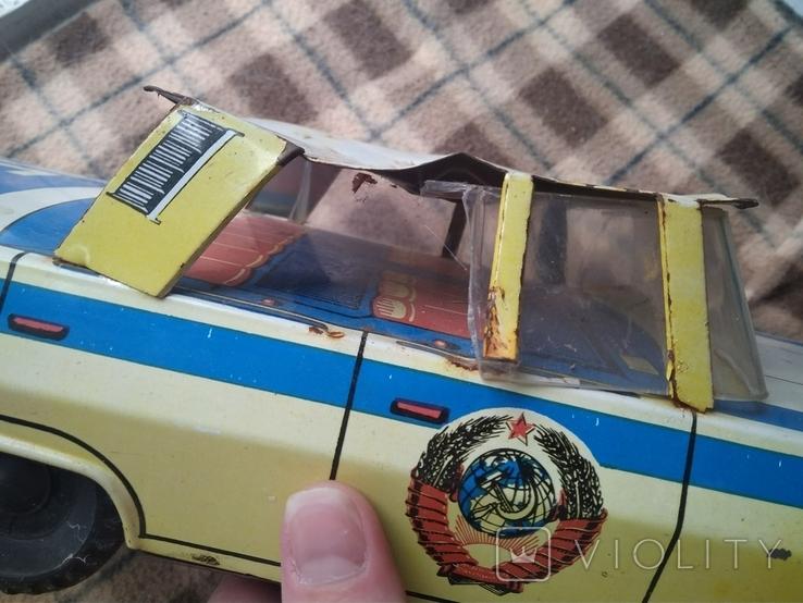 Машинка жесть Кубань Милиция СССР Большая, фото №6